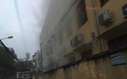 Cháy trường tiểu học ở Hải Phòng nghi do đốt rác