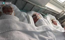 Nghị lực phi thường của người mẹ sinh 3 bé gái thành công trong đêm