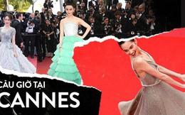 """Chiêu trò """"câu giờ"""" tại Cannes: Người đẹp hạng A lẫn mỹ nhân vô danh đang """"vứt thể diện"""" trên đấu trường quốc tế?"""