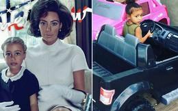 """Con gái Kim """"siêu vòng ba"""": 5 tuổi đã sở hữu tủ đồ hiệu hàng chục tỷ, đi phi cơ riêng"""