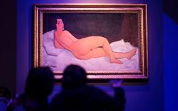 Bức tranh cô gái khỏa thân của danh họa Modigliani phá kỷ lục giá Sotheby's