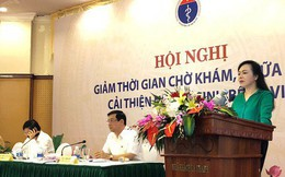 """Bộ trưởng Nguyễn Thị Kim Tiến quy trách nhiệm nhà vệ sinh """"bốc mùi"""" cho giám đốc BV"""