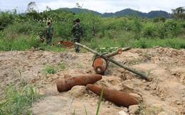 Đầu đạn phát nổ khiến 2 quân nhân tử vong và 3 người bị thương