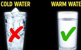 Tưởng rằng nước lạnh sẽ giải nhiệt cho cơ thể nhưng sự thật sẽ khiến nhiều người bất ngờ!