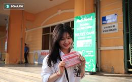 """Fan nữ Nam Định, Hà Nội tăng sức """"nóng"""" cho SVĐ Thiên Trường"""