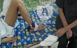"""Nạn nhân vụ ô tô đâm, kéo lê ở Ô Chợ Dừa: Thoát """"tử thần"""", nhưng chật vật trên giường bệnh"""