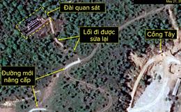 """[PHOTO STORY] Bãi thử nghiệm hạt nhân Punggye-ri thay đổi """"chóng mặt"""" trước giờ G"""