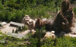 Những hình ảnh ấn tượng về quá trình phá hủy bãi thử hạt nhân Punggye-ri của Triều Tiên