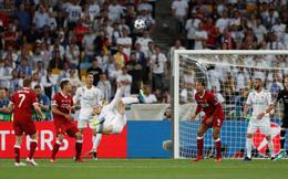 """Real Madrid 3-1 Liverpool: Gareth Bale """"nã đại bác"""" khiến Karius bó tay"""