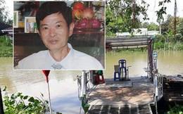 Nghi phạm giết vợ, phi tang xác xuống sông bị truy bắt lúc 0h, khi đang về thăm mộ vợ