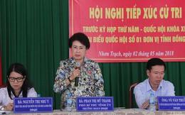 Bà Phan Thị Mỹ Thanh vẫn tiếp xúc cử tri với vai trò trưởng đoàn ĐBQH