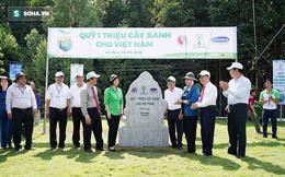 Quỹ Một triệu cây xanh cho Việt Nam về tới đất Mũi Cà Mau