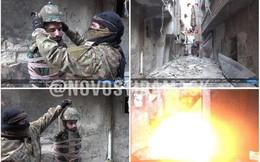Phẫn nộ trước cảnh IS biến binh sĩ Syria thành tên lửa sống