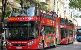 Chính thức khai trương tuyến xe buýt hai tầng mui trần đầu tiên ở Hà Nội: Giá vé 300.000/4h