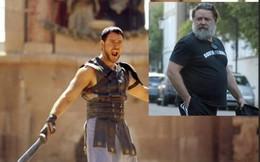 Ngoại hình già sọm, không thể nhận ra 'Võ sĩ giác đấu' Russell Crowe ở tuổi 54