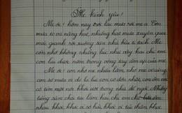Ngày 1/6, bức thư 700 chữ gửi mẹ của cô bé lớp 5 khiến người đọc nghẹn ngào