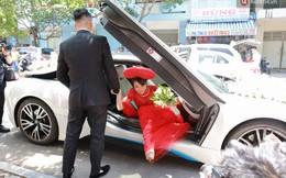 Diệp Lâm Anh hôn thiếu gia Sài Gòn, hạnh phúc lên xe về nhà chồng