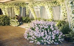 """Khung cảnh sang trọng, ngập tràn sắc hoa bên trong tiệc cưới """"ngôn tình"""" của Diệp Lâm Anh"""