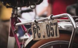 Ngắm những chiếc xe đạp cổ giá nghìn đô giữa lòng Hà Nội
