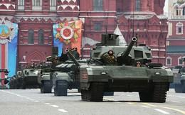 """Những """"siêu phẩm"""" lần đầu tiên trình làng trong lễ duyệt binh Nga"""