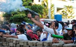 24h qua ảnh: Đụng độ với cảnh sát, người biểu tình Nicaragua bắn đạn cối tự chế