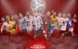 Toàn bộ lịch phát sóng World Cup 2018 trên các kênh của VTV