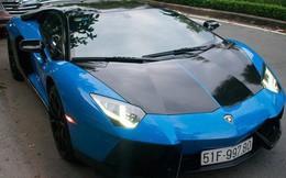 Siêu xe Lamborghini Aventador độc nhất Việt Nam khoác áo mới