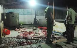 Xét xử nữ tiểu thương hắt tiết lợn vào người chủ tịch huyện