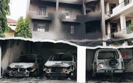 Ai đứng sau vụ hàng ngàn người quá khích tràn vào trụ sở UBND Bình Thuận, châm lửa đốt ô tô?