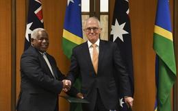 Úc cứng rắn với Trung Quốc