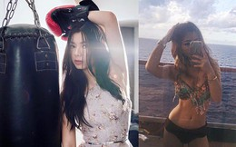 """Con gái sành điệu, xinh như hoa hậu của """"nữ hoàng ảnh lịch"""" Thanh Xuân"""