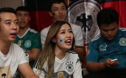 Cận cảnh các hot girl Việt Nam buồn tê tái khi 'dàn nam thần' tuyển Đức thua trận