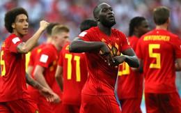 """Lukaku lập cú đúp trong 7 phút, Bỉ """"đè bẹp"""" tân binh World Cup"""