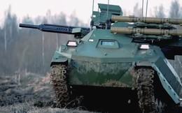 """Robot """"sát thủ"""" Uran-9 của Nga lộ điểm yếu nghiêm trọng trên chiến trường Syria"""