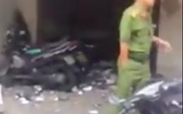 Vụ nổ ở công an phường làm 1 người bị thương: Đang truy bắt 2 nghi can
