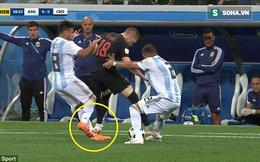 """Croatia xứng đáng nhận thẻ đỏ vì """"đòn bẩn"""" trước bàn mở tỷ số vào lưới Argentina?"""