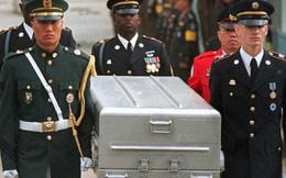 Mỹ đưa 100 quan tài tới biên giới liên Triều