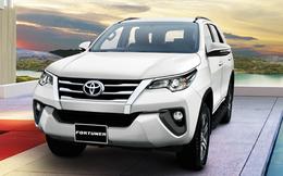 Bảng giá xe mới nhất: Toyota Fortuner bất ngờ đội giá 45 triệu đồng