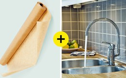 8 mẹo chùi rửa và dọn dẹp thông minh vừa hiệu quả lại tiết kiệm thời gian