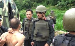 Vụ dùng xe bọc thép bắt tội phạm ma túy: Đối tượng có súng, lựu đạn chống trả quyết liệt
