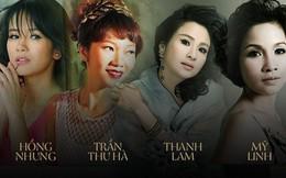 Bộ tứ Diva nhạc Việt: Kẻ lận đận đôi ba lần lỡ dở, người hạnh phúc với tổ ấm xứ cờ hoa