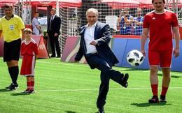 24h qua ảnh: Tổng thống Putin trổ tài đá bóng ở Quảng trường Đỏ