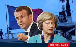 """Đưa tàu chiến tuần tra Biển Đông, Anh - Pháp muốn """"dằn mặt"""" TQ, gửi thông điệp tới Mỹ"""