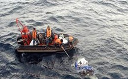 Tìm thấy thi thể Thiếu úy biên phòng trôi xa 25 hải lý