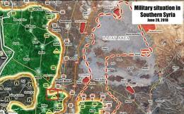 """""""Hổ Syria"""" tốc chiến hàng loạt làng mạc, chiến binh Hồi giáo tháo chạy về biên giới với Jordan"""