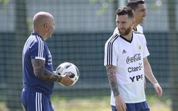 """World Cup 2018: Argentina lại lộ bài, Messi """"gạch tên"""" cả 2 """"sát thủ"""""""