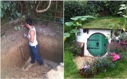 Mặc hàng xóm nhòm ngó, anh chàng mải miết đào bới đất trong vườn nhà, đến khi nhìn thấy kết quả ai cũng thốt lên kinh ngạc