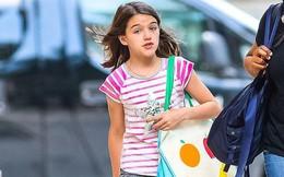 Công chúa điệu đà một thời Suri Cruise xuất hiện đầy giản dị trên phố giữa tin đồn sắp được gặp lại bố Tom