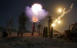 Ảnh: Binh sĩ Mỹ huấn luyện phối hợp tác chiến trong các cuộc tập trận