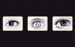 """Chọn đôi mắt bạn cho là đang giận dữ để """"đọc vị"""" tính cách của bản thân"""